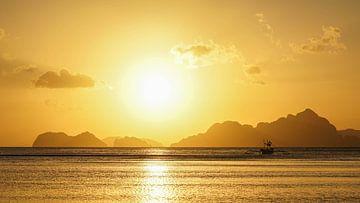 Sonnenuntergang auf der philippinischen Insel Siquijor von Jessica Lokker