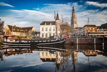 Breda - Spanjaardsgat Spinola - Grote Kerk von Ronald Westerbeek