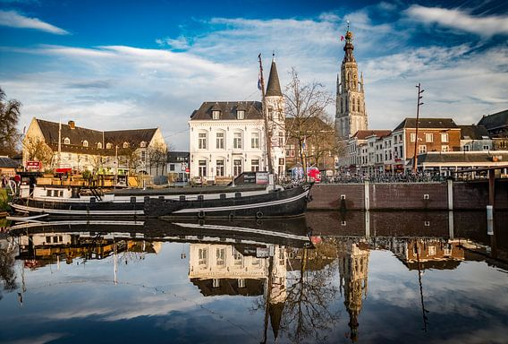Breda - Spanjaardsgat- Spinola - Grote Kerk van Ronald Westerbeek