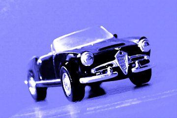 CUORE SPORTIVO - Alfa Romeo Giulietta Spider  von Jean-Louis Glineur alias DeVerviers