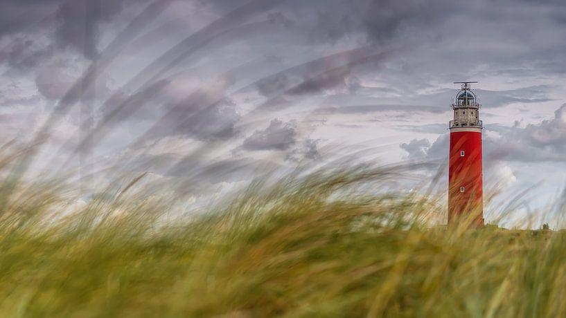 Vuurtoren Texel van Bas Van Ooijen