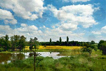Langs de Linge tussen Arkel en Leerdam von Peter Baak