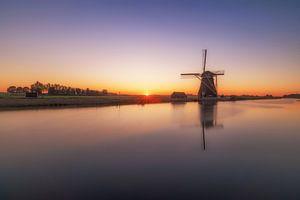 Windmühle an der Uferpromenade von Maikel Brands