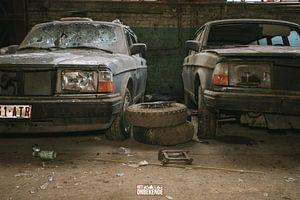 Verlassene und vergessene Volvo's. von Het Onbekende