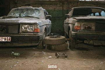 Des Volvo abandonnées et oubliées. sur Het Onbekende