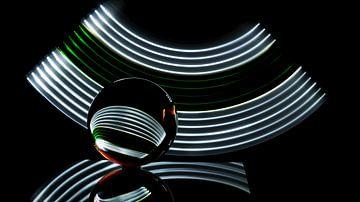 Glazenbol abtract  van Jan  Sterken