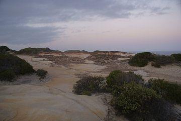 Een landschap in Australië van Ilias Achkaoukaou