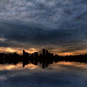 Skyline spiegeling