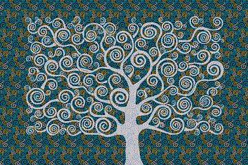 Hommage an Gastav Klimt von Harry Hadders