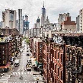 Les rues de New York - Manhattan sur Roger VDB