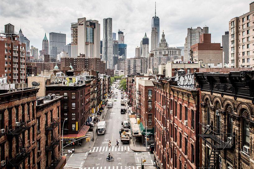 New York streets - Manhattan von Roger VDB