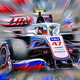 Schumacher reloaded -  Mick #47 (Version 2) van Jean-Louis Glineur alias DeVerviers