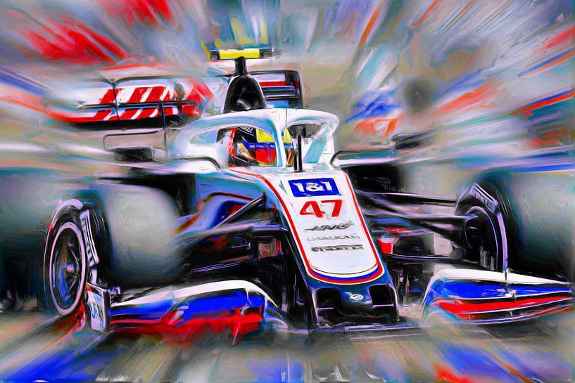 Schumacher reloaded -  Mick #47 (Version 2) von DeVerviers