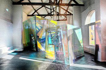 Colour & Glass art sur Ruud Laurens