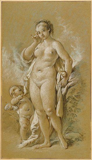 François Boucher. Naakt, 1755 van 1000 Schilderijen
