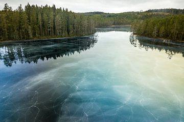 La glace bleue