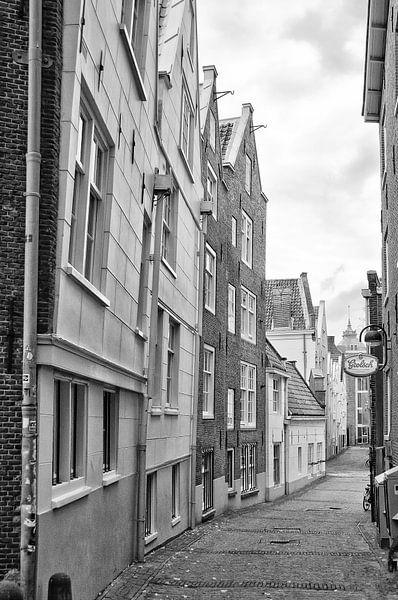 De Gedempte Begijnensloot Amsterdam van Don Fonzarelli