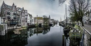 Rotterdam panorama delfshaven van