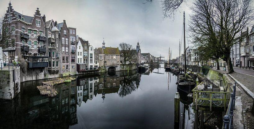 Rotterdam panorama delfshaven van Rob van de Graaf