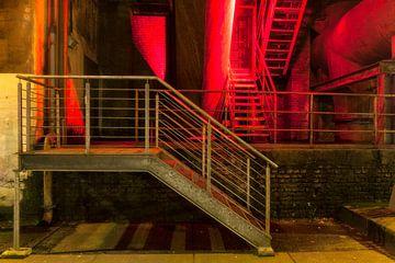 Rood trappenhuis, Landschaftspark Duisburg van