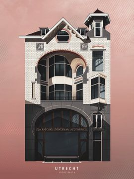 Mijn Utrecht - Voorstraat 6 van Gilmar Pattipeilohy