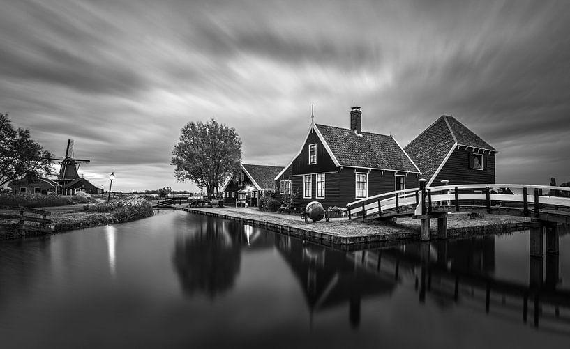 Ein Abend in der Zaanse Schans, Zaandijk von Henk Meijer Photography