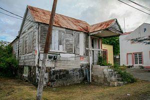 Verfallenes Haus auf St. Eustatius
