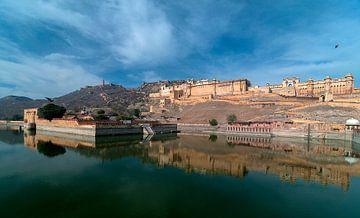 Jaipur: Fort Amber van Maarten Verhees