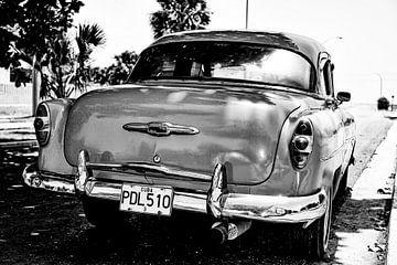 Cubaanse  Chevrolet PDL 510 (zwart wit)