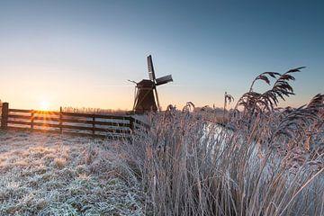 Winterlandschaft von P Kuipers
