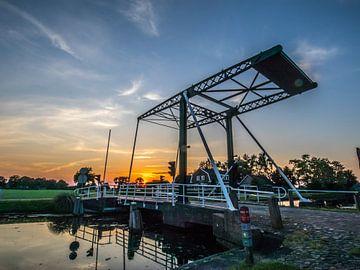 Ophaalbrug Heeten Overijssel sur Frank Slaghuis