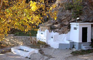 Alter Wasserbrunnen in Fuentes de Cesna Spanien von Jan Katuin