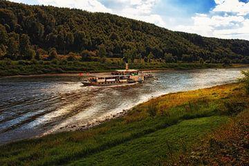 Riviercruise op de Elbe van Dieter Ludorf