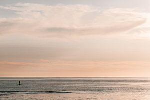 Der einsame Surfer