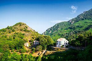 Huis in Corsicaanse bergen