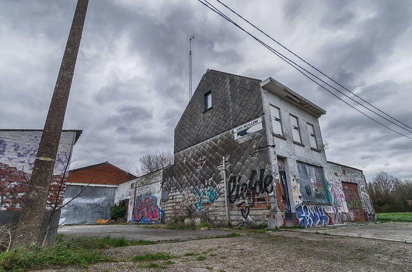 Vervallen huis van Mark Bolijn