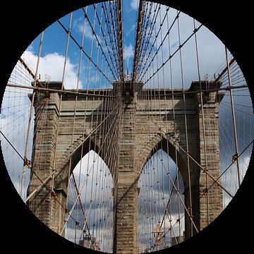 new york city ... brooklyn bridge III van Meleah Fotografie