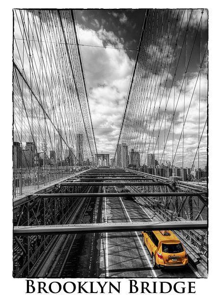 Brooklyn Bridge New York van Carina Buchspies