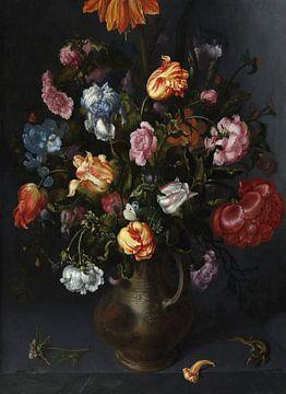 Eine Vase mit Blumen, Jacob Vosmaer - ca. 1613