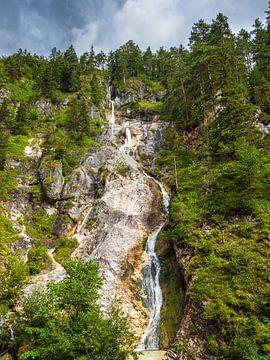 Les gorges de l'Almbach dans le pays de Berchtesgaden sur Rico Ködder