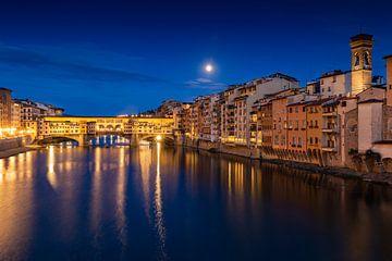 Pont Florence Ponte Vecchio sur Dennis Eckert