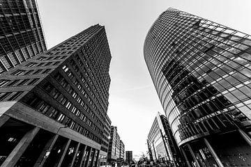 Berlin - Wolkenkratzer am Potsdamer Platz von Frank Herrmann