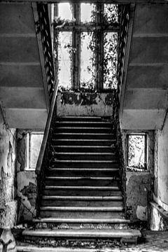 Trap naar het kasteel van M..... van Artde Nancy