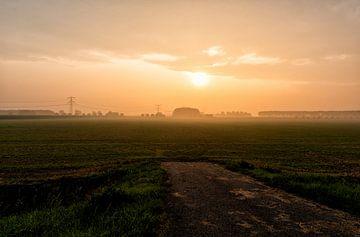 Polder bei Zuidland von Patrick Speters