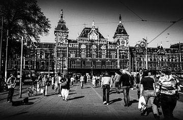 Centraal Station Amsterdam 80-er jaren