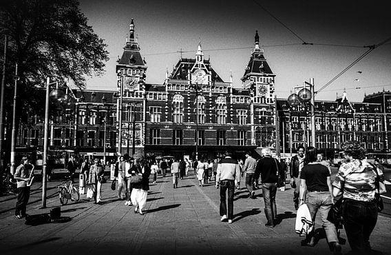 Centraal Station Amsterdam 80-er jaren van PIX URBAN PHOTOGRAPHY