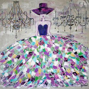 Moderne Frau in der Mode