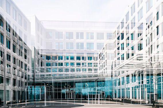 Blauw-Wit in Amsterdam van Ellen Driesse