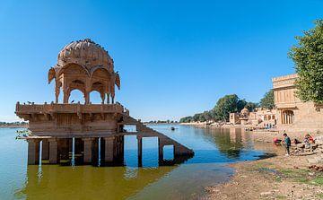 Jaisalmer: Gadsisar Meer van Maarten Verhees