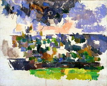 Paul Cézanne, Der Garten von Les Lauves - 1906